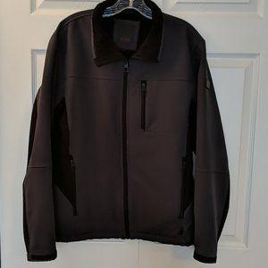 Tumi Lined Jacket Gray and Black sz Medium